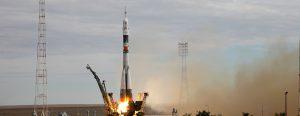 Самарская ракета-носитель «Союз-ФГ» вывела пилотируемый корабль к МКС