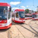 На следующей неделе в Самаре начнут курсировать трёхсекционные трамваи