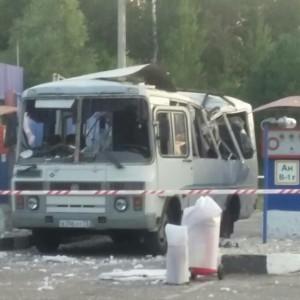 В Димитровграде взорвался пассажирский автобус на АЗС