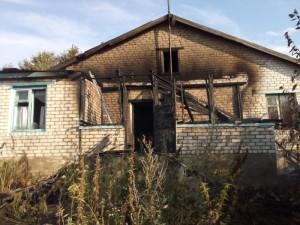 Пожар в Ульяновской области. Без жертв не обошлось.