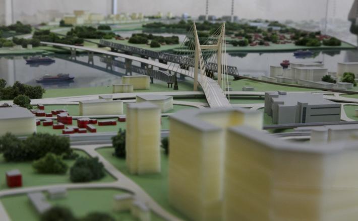 Мост сдан! В миниатюре
