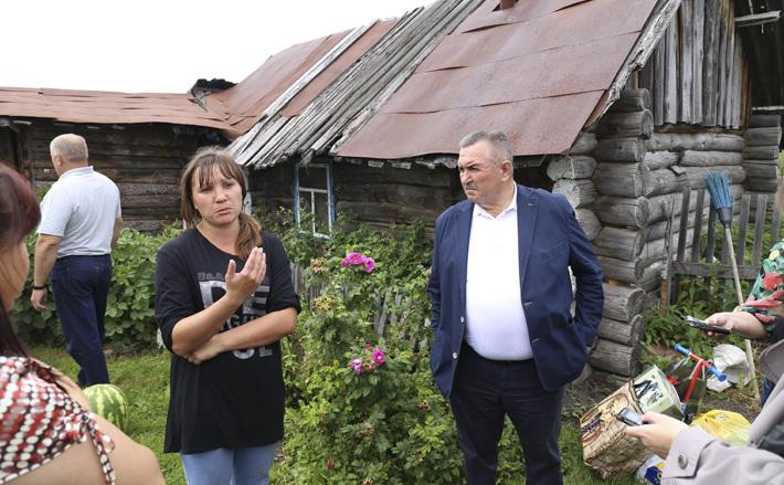 Погорельцам купят дом