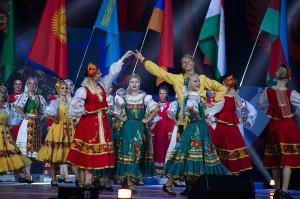 В Ульяновске выступили Билан и Караулова