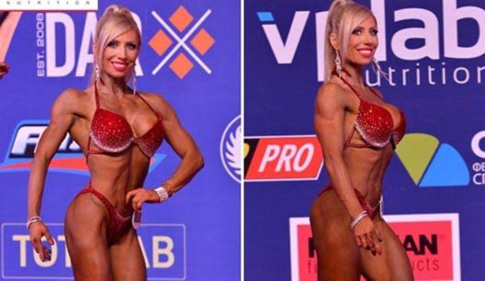 Костромичка-супруга вице-президента Mail.ru завоевала «серебро» на конкурсе по бодибилдингу в Барселоне