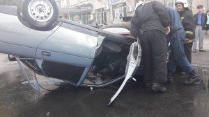 В Самаре на улице Чернореченской произошло ДТП с пятью машинами