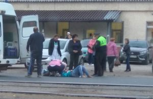 В Самаре на Заводском машина сбила пешехода