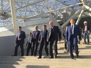 Помощник президента остался доволен ходом строительства «Самара Арены»