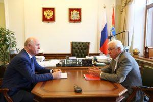 Губернатор Самарской области провёл встречу по поводу ликвидации СГАСУ