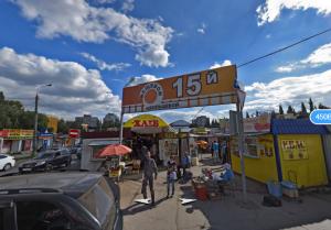 В Самаре демонтируют незаконные торговые точки на улице Ташкентской