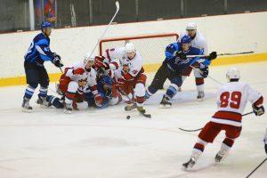 Самарская хоккейная команда ЦСК ВВС проиграла со счётом 1:3