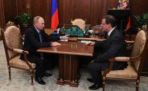 Владимир Путин назначил Дмитрия Азарова врио губернатора Самарской области