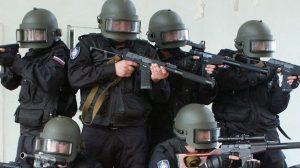 На стадионе «Самара Арена» сотрудники ФСБ провели учения