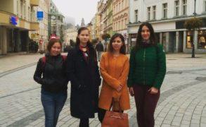 Студенты Елабужского института КФУ проходят стажировку в Западно-Чешском университете