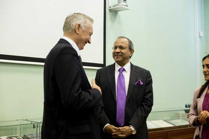 Посол Индии предложил Самарскому университету развивать сотрудничество