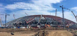 Комиссия FIFA торопит строителей стадиона «Самара Арена»