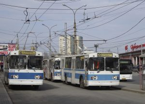 В Самаре ограничили движение троллейбусов по Московскому шоссе