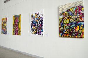 В Курумоче открылась выставка картин самарской художницы