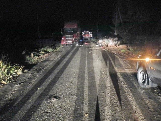 Жуткое столкновение с американским грузовиком: от «пятнашки» ничего не осталось