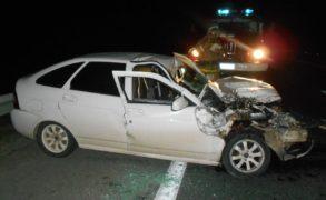 В ДТП под Елабугой водитель сломал ногу