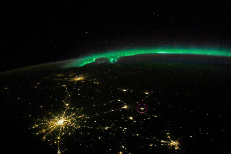 Сделано! Известный космонавт опубликовал фото Костромы из космоса