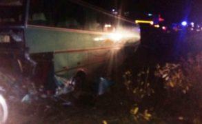 В Татарстане автобус с туристами вылетел в кювет, 8 человек пострадали