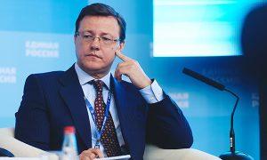 Дмитрий Азаров занял 12 место в общероссийском рейтинге губернаторов