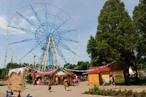 Строительство нового Колеса обозрения в парке Гагарина могут отложить
