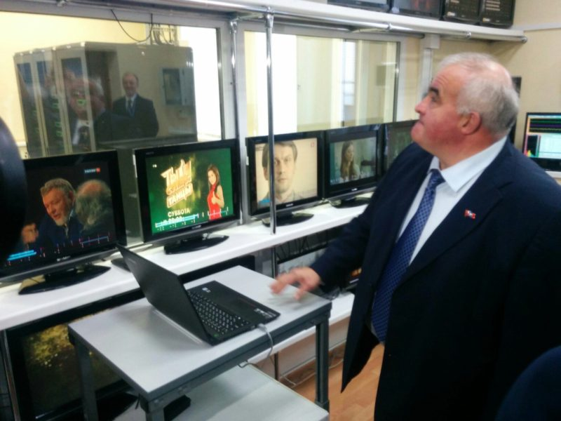 Сергей Ситников сегодня подключил Костромскую область к цифровому эфирному телевидению