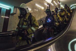 ВСамаре сотрудники МЧС отработали тушение пожара в метро