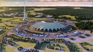 Строительство стадиона «Самара Арена» завершено на81%