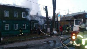 Пожар на улице Буянова в Самаре тушили 85 человек