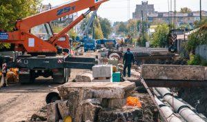 В Самаре завершили монтажные работы теплосети наулице Карбышева