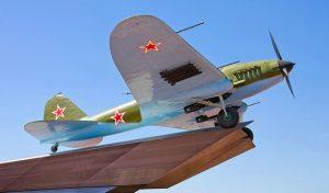 Памятник самолёту ИЛ-2 в Самаре вернут на традиционное место 7 ноября