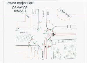 В Самаре на пересечении Кирова иПобеды заработали 11 новых светофоров