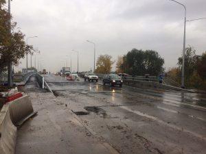 Южный мост в Самаре не открыли для движения из-за непогоды