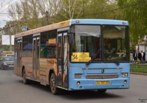 С 6 октября в Самаре изменится маршрут автобуса №56