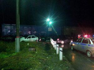 Под Тольятти тепловоз столкнулся с автомобилем