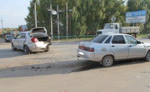 В Татарстане в результате ДТП пострадала беременная женщина
