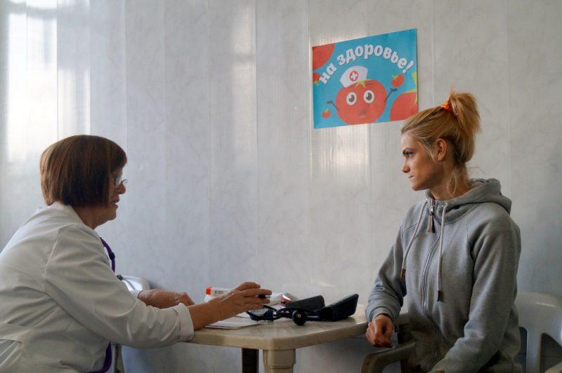 На «Высоковском» за прививку против гриппа выдают 2 килограмма томатов