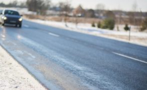 ГАИ Татарстана напоминает водителям об опасности гололедицы