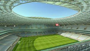 На стадионе «Самара Арена» приступили к подготовке основания футбольного поля