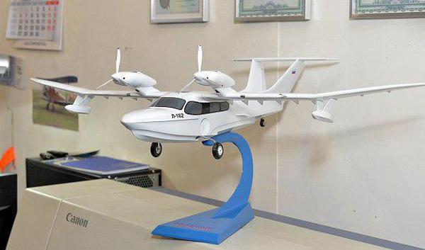 В Самаре собирают первый в России арктическиё самолет-амфибию