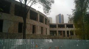 Здание Фабрики Кухни в Самаре консервируют на зиму
