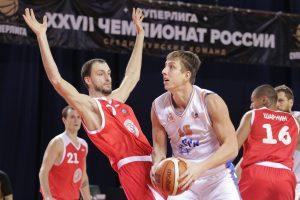Баскетбольная «Самара» обыграла «Спартак» в домашнем матче