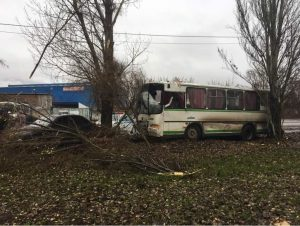 В Самаре попал в ДТП автобус с пассажирами