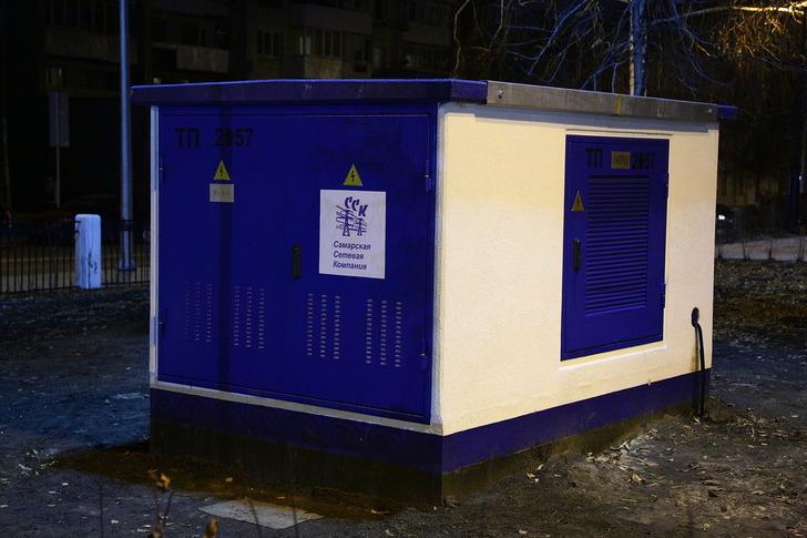 В Самаре на площади Куйбышева установили две новые подстанции