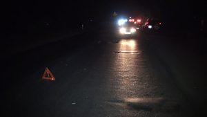 На трассе под Тольятти машина насмерть сбила женщину
