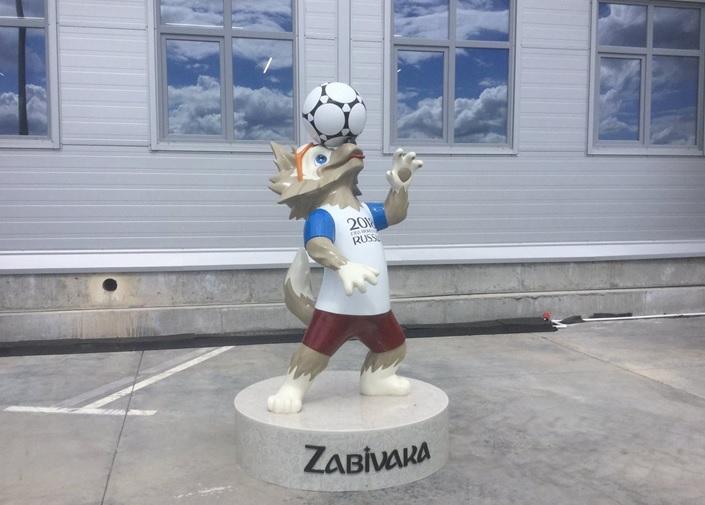В Самаре установят скульптуры волка Забиваки