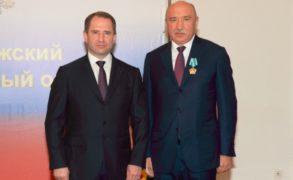 Ректор КФУ Ильшат Рафкатович Гафуров удостоен Ордена дружбы РФ